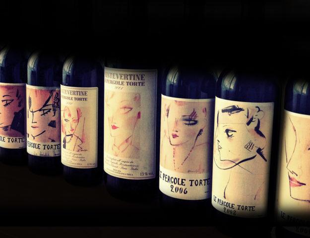 vino etichette d'autore